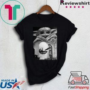 A Bountiful Baby Yoda In Mandalorian Tee Shirts