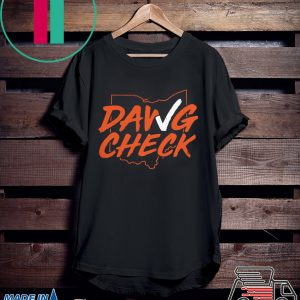 Dawg Check Shirt - Cleveland Brown