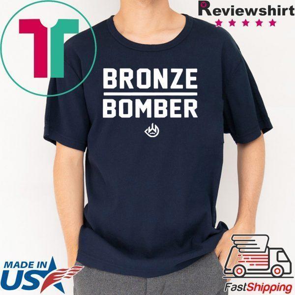 Deontay Wilder Bronze Bomber Heavy Weight 2020 T-Shirt
