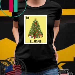El Arbol Christmas Navidad shirt