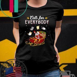 Nice Cats For Everybody Christmas shirt