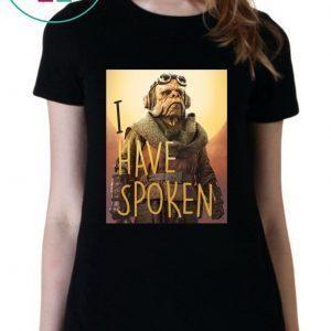The Mandalorian Kuiil I Have Spoken Tee Shirt