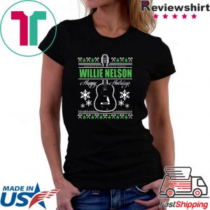 Willie Nelson guitar Christmas 2020 Shirts