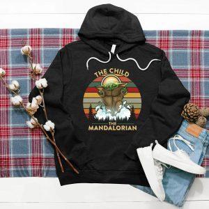 Yo Da The Child The Mandalorian Floating Pod Best Design Art Vintage Tee Shirt
