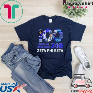 100 Years Of 1920 2020 Zeta Phi Beta Classic T-Shirt