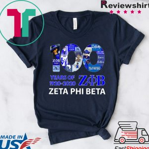 100 Years Of 1920 2020 Zeta Phi Beta Unisex T-Shirt