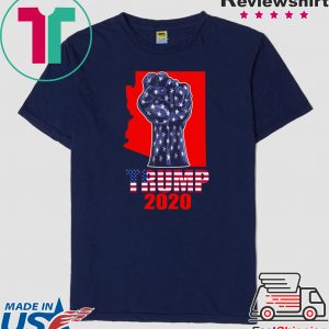 Arizona For President Donald Trump 2020 Election Us Flag Tee Shirts