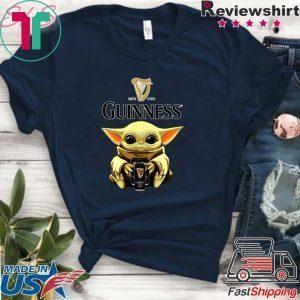 Baby Yoda Hug Guinness Beer Tee Shirt