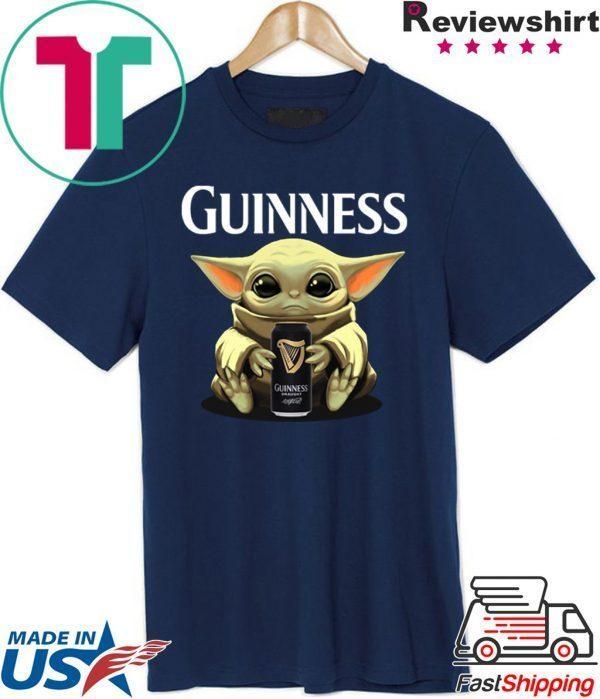 Baby Yoda Hug Guinness Tee Shirt