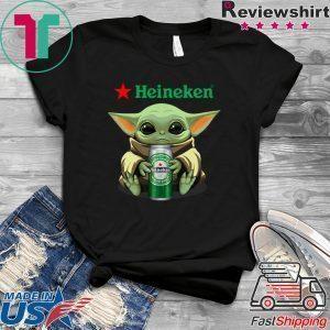 Baby Yoda Hug Heineken Tee Shirt