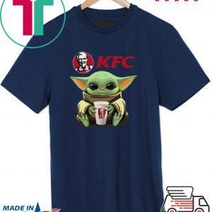 Baby Yoda Hug KFC Tee Shirt