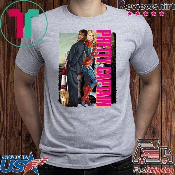 Captain Marvel Tee Shirt