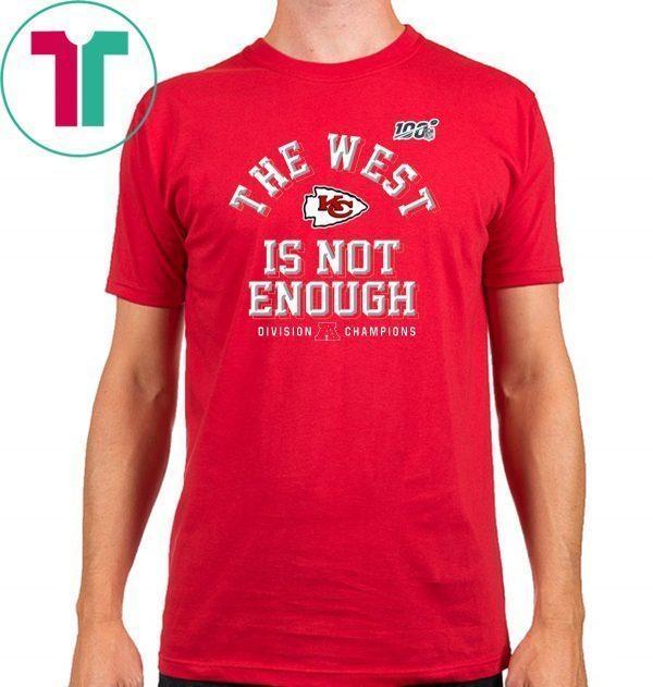 Chiefs AFC West Champions Shirt - Kansas City Chiefs