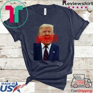 Donald Trump Impeached Stamp Anti Trump Pro Impeachment Tee Shirts