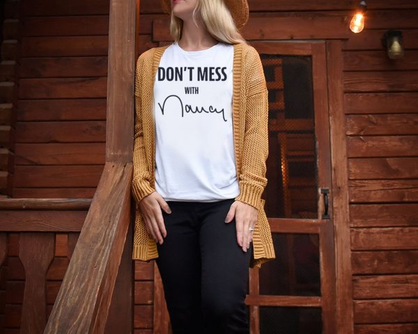 Don't Mess With Nancy Pelosi Tee Shirt