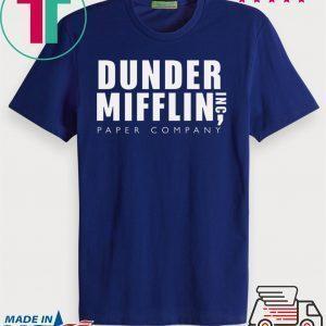 The Office Dunder Mifflin Inc Paper Company Tee Shirt