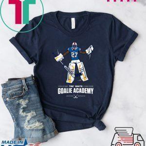 Tre White Goalie Academy Tee Shirts