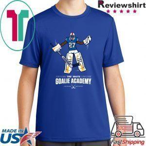 Tre White Goalie Academy Unisex T-Shirt