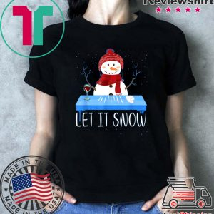 Walmart Cocaine Santa Snowman Let It Snow Tee Shirts