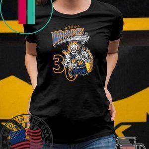 Warren Lotas Warriors Shirt - Out For Blood Warriors Tee Shirts