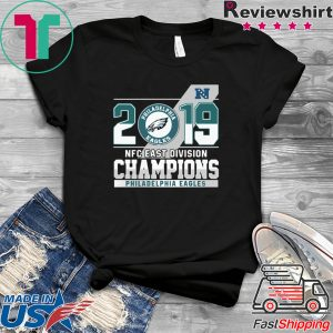 2019 Nfc East Division Champions Philadelphia Tee Shirts