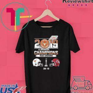 2019 Texas Longhorns Alamo Bowl Champions Tee Shirts