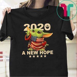 2020 A New Hope Baby Yoda Tee Shirts