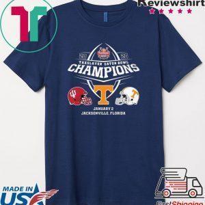 2020 Taxslayer Gator Bowl Champions Tee Shirt