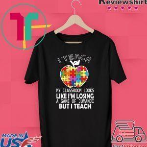 Autism A Big Piece Of My Heart Tee Shirt