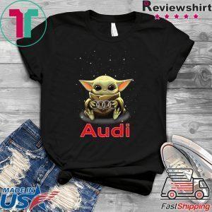 Baby Yoda Hug Audi Tee Shirts