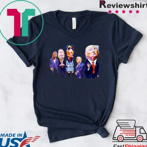 Donald Trump Dwayne Johnson John Kasich Nikki Haley Mike Pence Tee Shirts