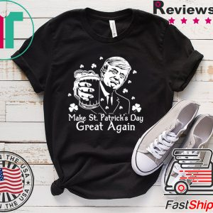 Donald Trump Make St Patrick's Day great again Tee Shirt
