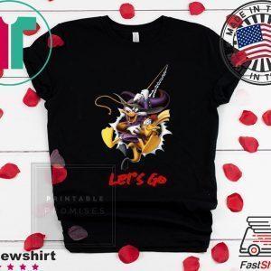 Duck Donald Let's Go Shirt