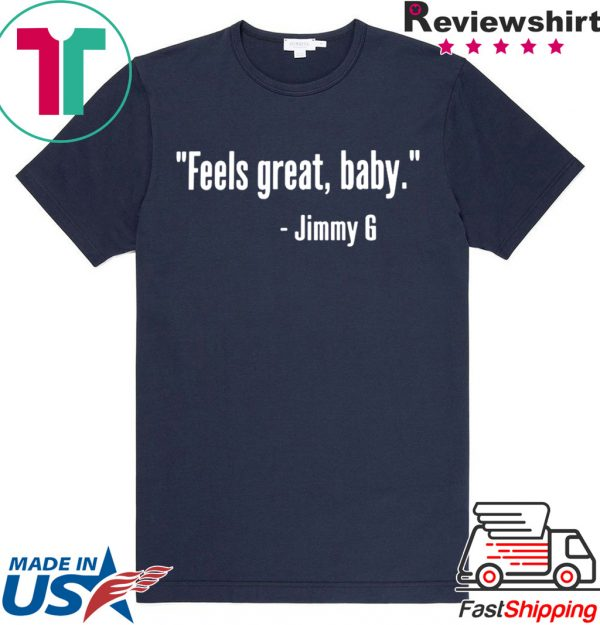 49ers NFC Feels Great Baby Jimmy G Football T Shirt