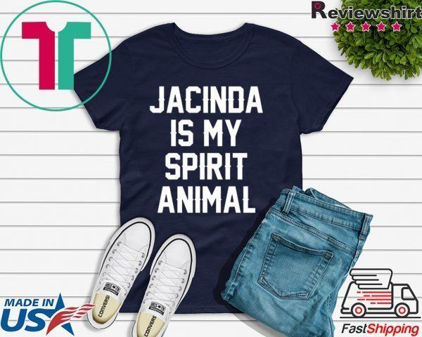 Jacinda Is My Spirit Animal Tee Shirts