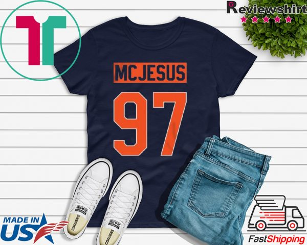 McJesus Tee - Spittin' Chiclets Podcast Tee Shirts