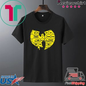 Wu-tang Clan Logo Killa Beez Is Forever Tee Shirt