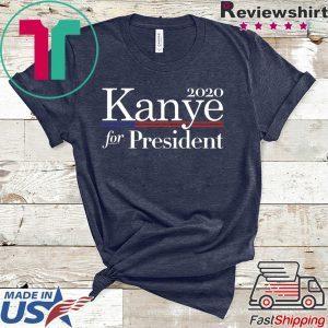 2020 Kanye For President American Flag Tee Shirts