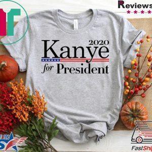 2020 Kanye For President American Flag Tee Shirt