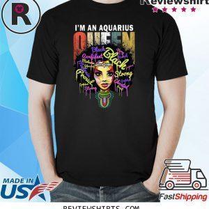 Aquarius Birthday for Women January February Queen Unisex TShirt