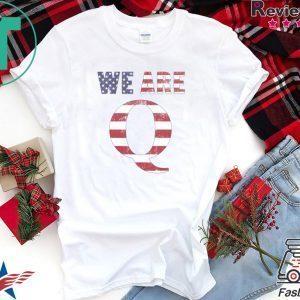 WWG1WGA 17 T-SHIRT WE ARE Q Tee Shirts