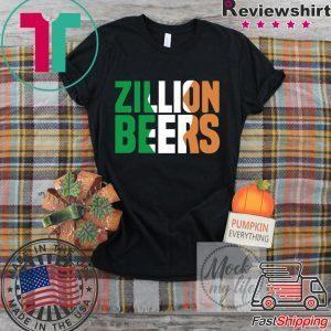 Zillion Beers Ireland Tee Shirts