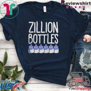 Zillion Bottles Onesie Tee Shirts