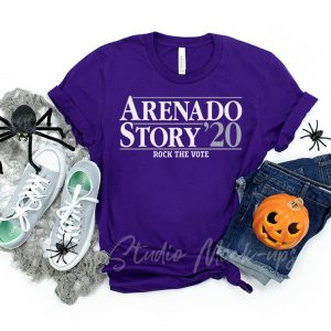 Arenado Story 2020 Colorado Tee Shirts