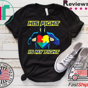 Autism Awareness Support Jigsaw Puzzle Fight Tee Shirts