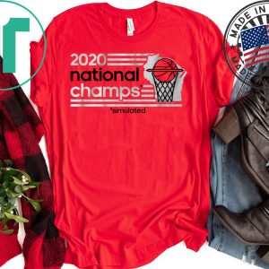 Sim Champs - Madison, WI Basketball Tee Shirts