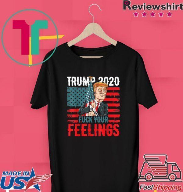 USA Flag Patriotic Conservative GOP Donald Trump Tee Shirts