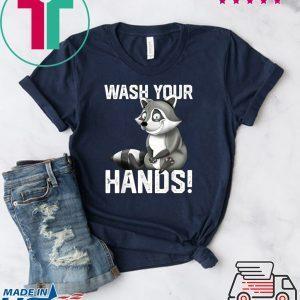 Wash Your Hands - Flu Cold Virus Influenza Tee Shirts