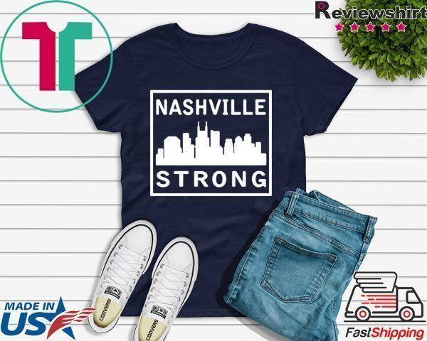 #nashvillestrong Nashville Tornado T-Shirt