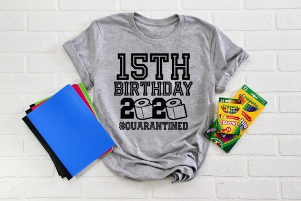 15 Birthday Shirt, Quarantine Shirts The One Where I Was Quarantined 2020 Shirt – 15th Birthday 2020 #Quarantined Tee Shirts